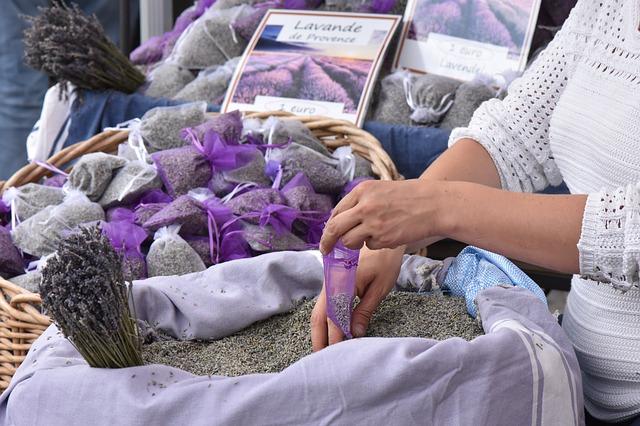 sušená levandule v Provance
