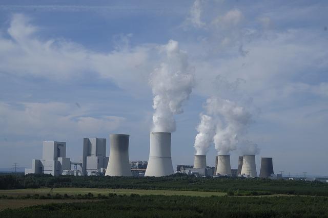 komíny elektrárny