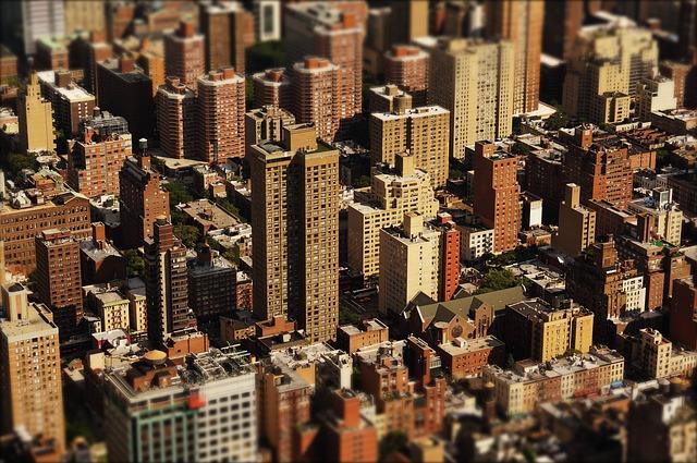 mrakodrapy města